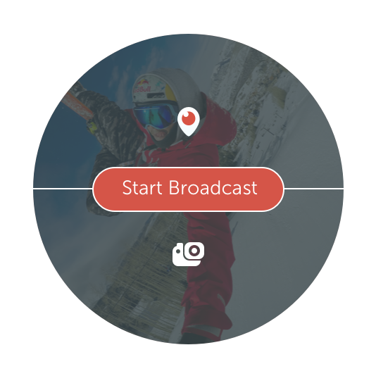 Periscope button