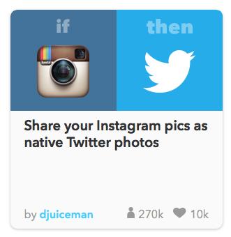 ifttt instagram to twitter photo fixxedia social media digital marketing native american company recipies.png
